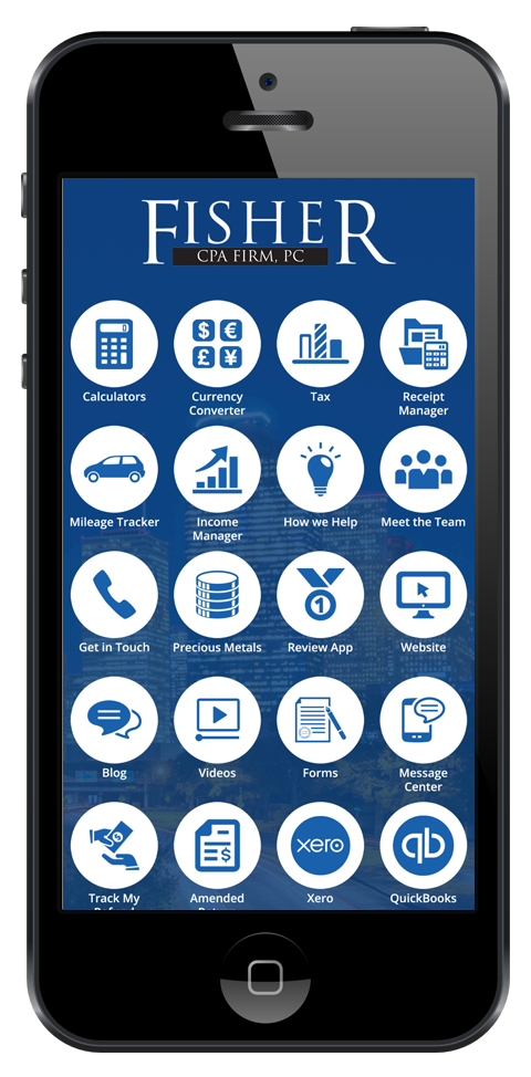 Fisher CPA Firm Mobile App Is Now Available For Download